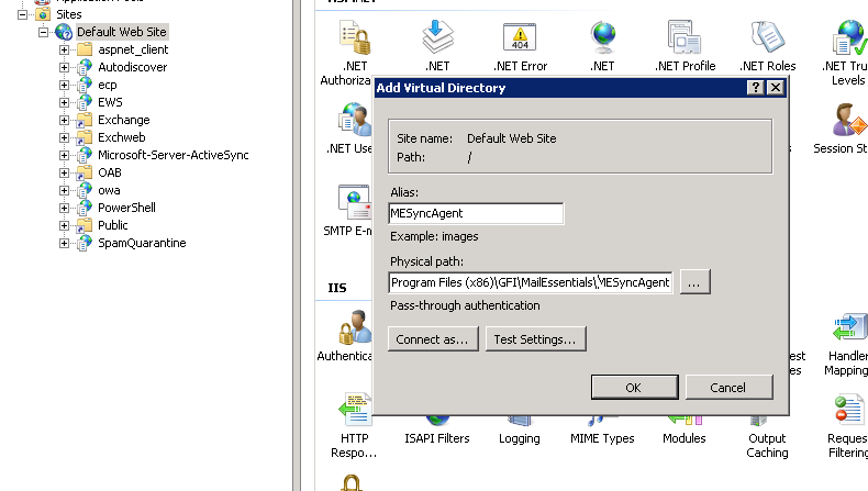 How to configure GFI MailEssentials Anti-Spam Synchronization