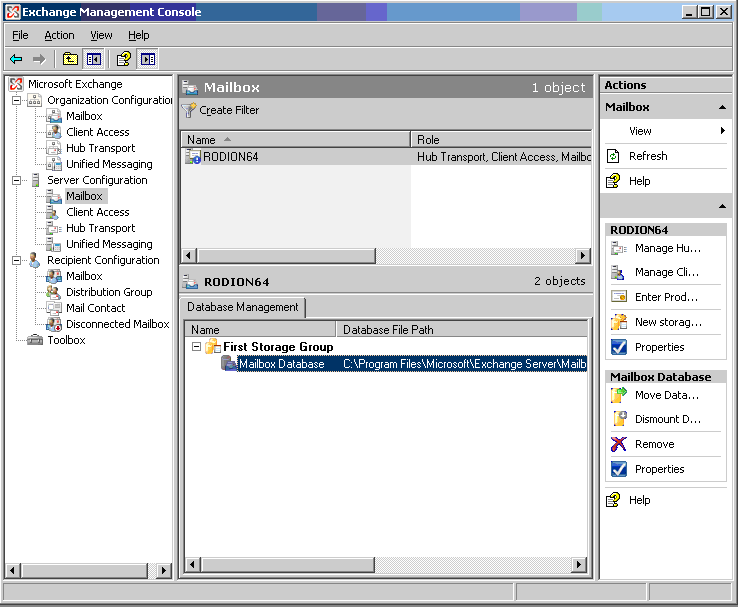 How does GFI Archiver work with Microsoft Exchange 2007